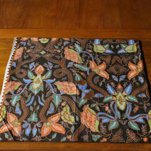 Batik Tulis Granitan Kembang Mawar