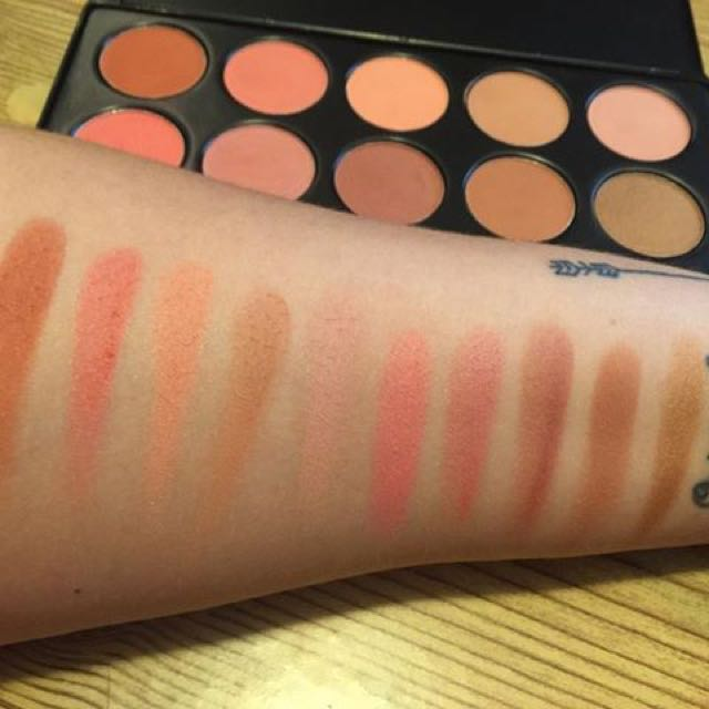 Nude Blush 10 Color Blush Palette by BH Cosmetics #4