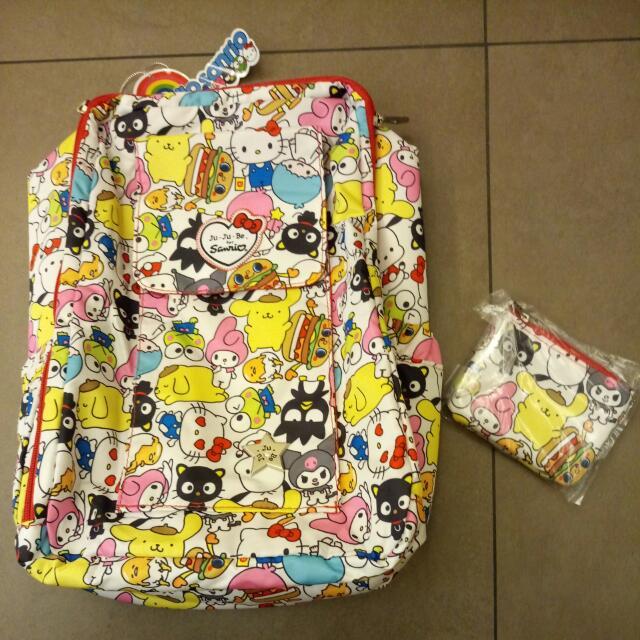 BNWT Hello Sanrio Jujube Mini Be With Coin Purse Hello Kitty Ju Ju ... adc9a72d35639