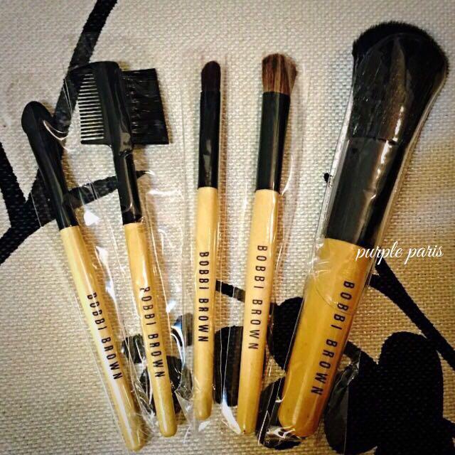BOBBI BROWN💋馬毛專業彩妝5件式 隨身旅行刷具組