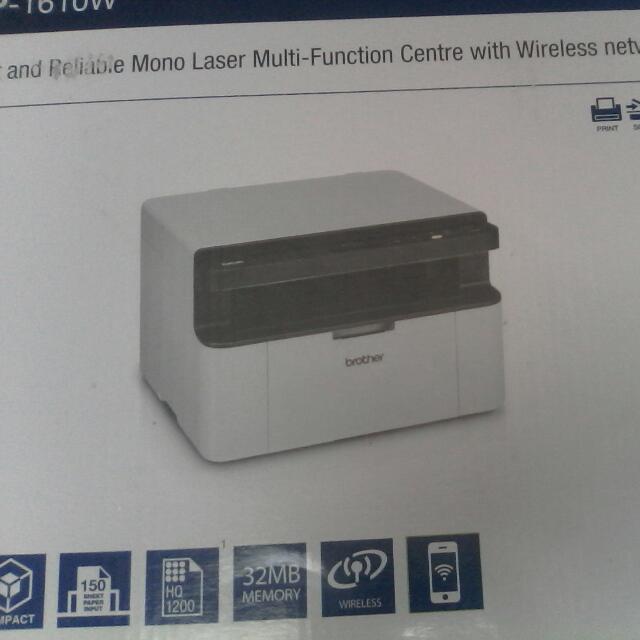 Brother Printer Scanner Fax Machine