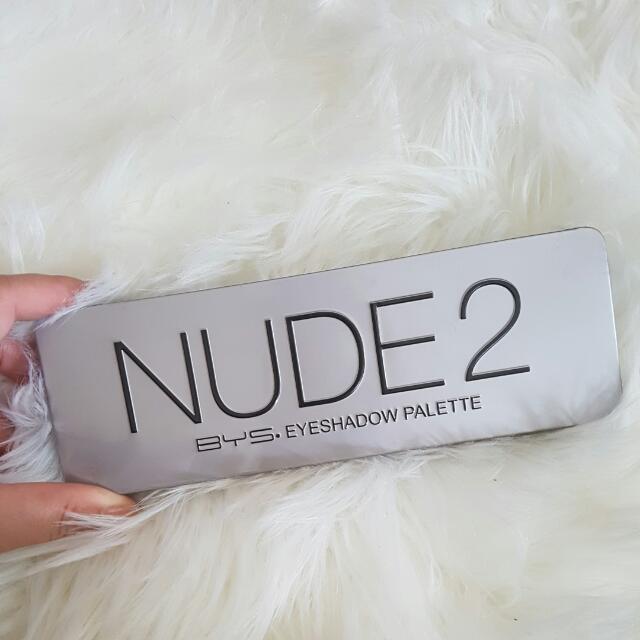 Bys Nude 2 Eye shadow Palette