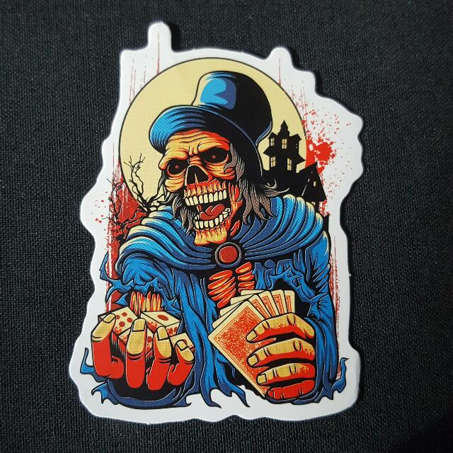 OOS C1 Halloween Horror Sticker Stickers, Toys & Games