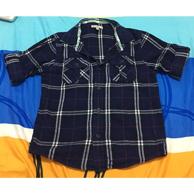 *Clearance Sale* Checkered Polo