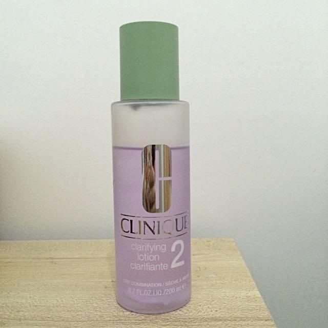 Clinique Clarifying Toner (Dry Combination)