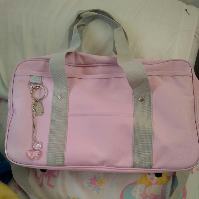 Cosplay Anime Pink School Bag