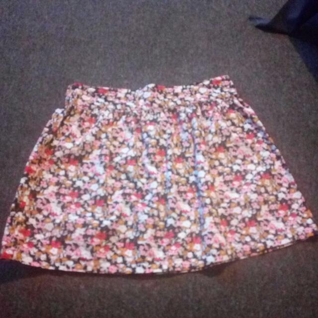 Cotton On High Waist Umbrella Skirt