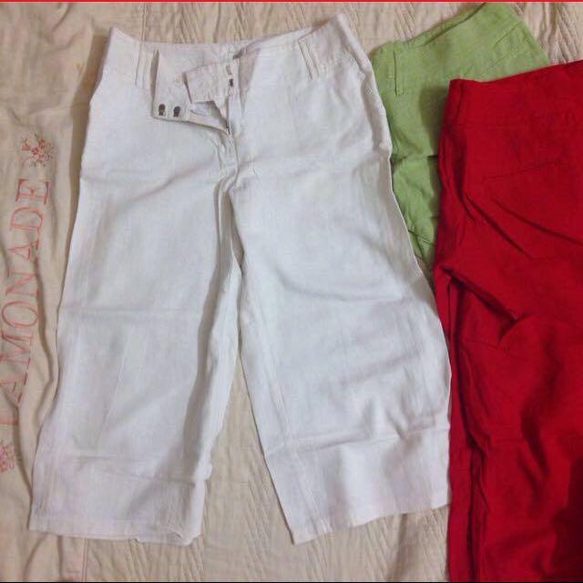 Culottes/ 3 Quarter Pants