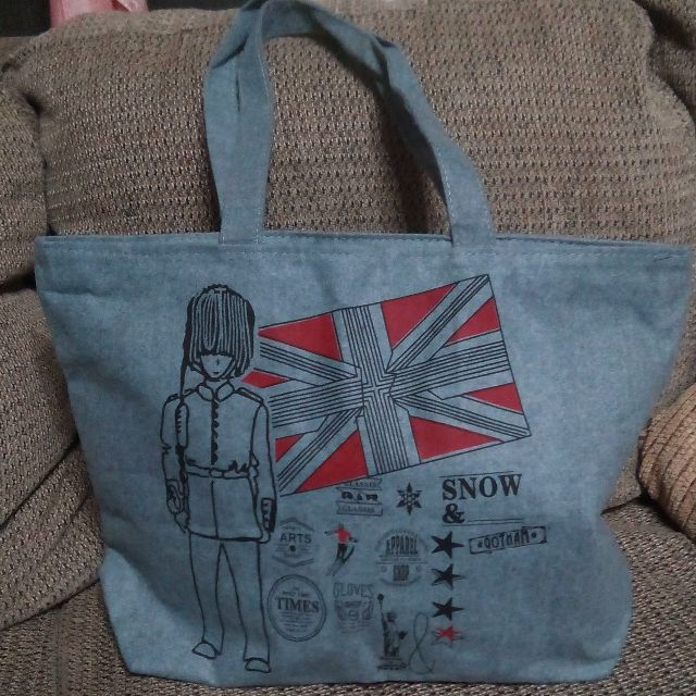 England Inspired Tote Bag