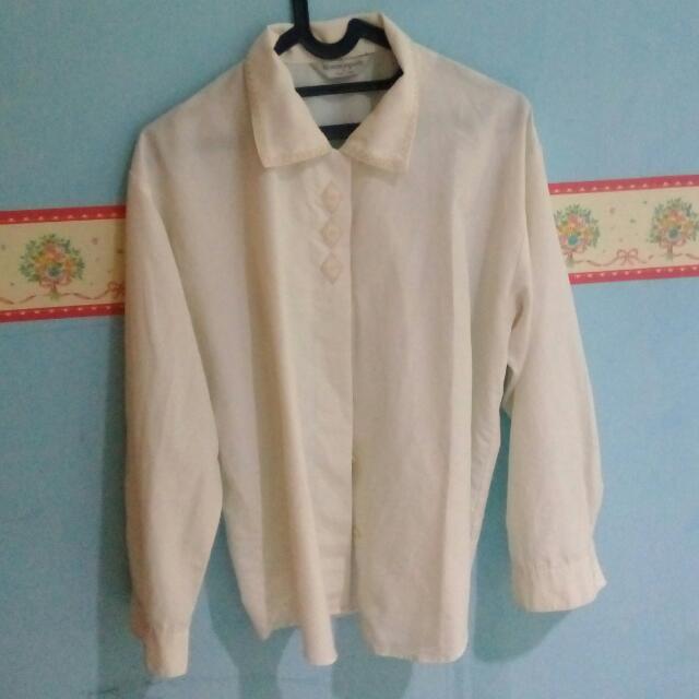 Ethnic White Shirt