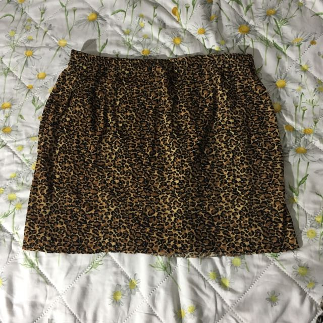 Free Size Printed Skirt