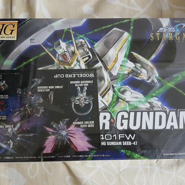 HG Stargazer Gundam + Stickers