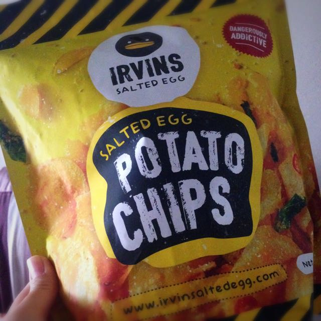 [RESERVED] Irvin's Salted Egg Potato Chips