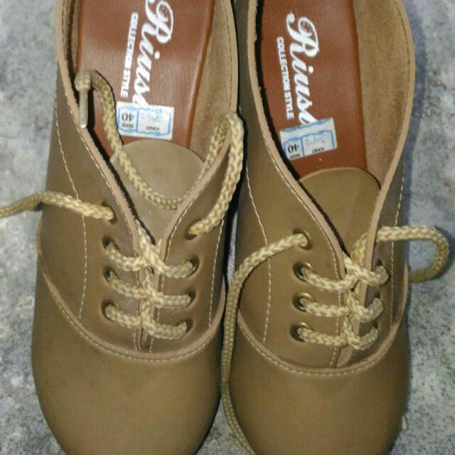 Khaki Brown Fashion Winter Boots