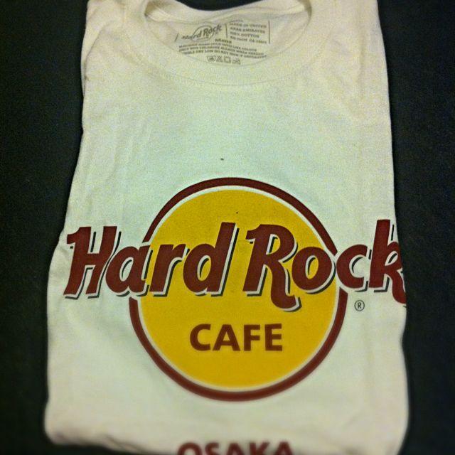 Logo白t(hard rock Osaka)