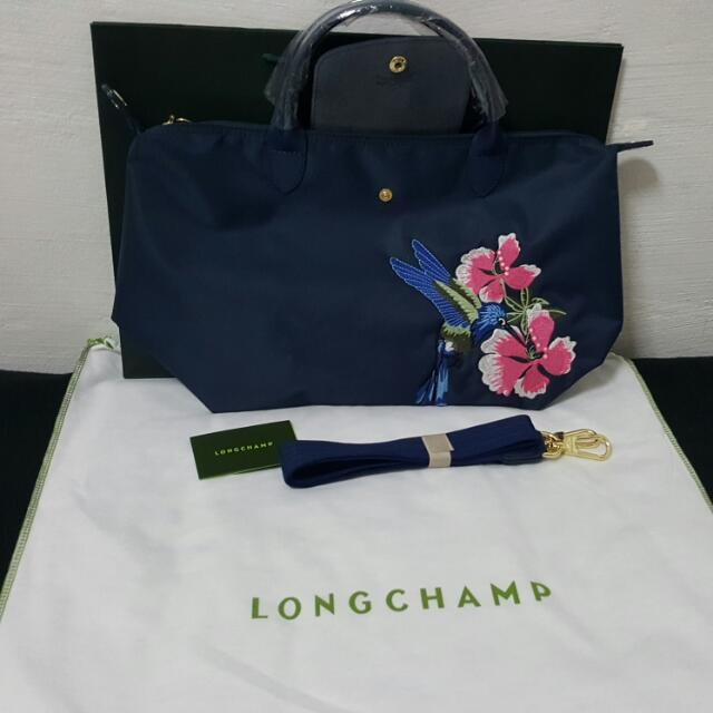 5537c379d1a4 ON HOLD longchamp bag with humming bird design