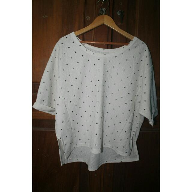 [REPRICE] Mini Umbrella White Top