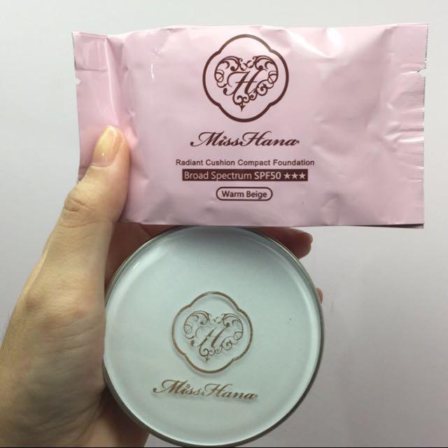 Miss hana 氣墊粉餅 spf50★★★