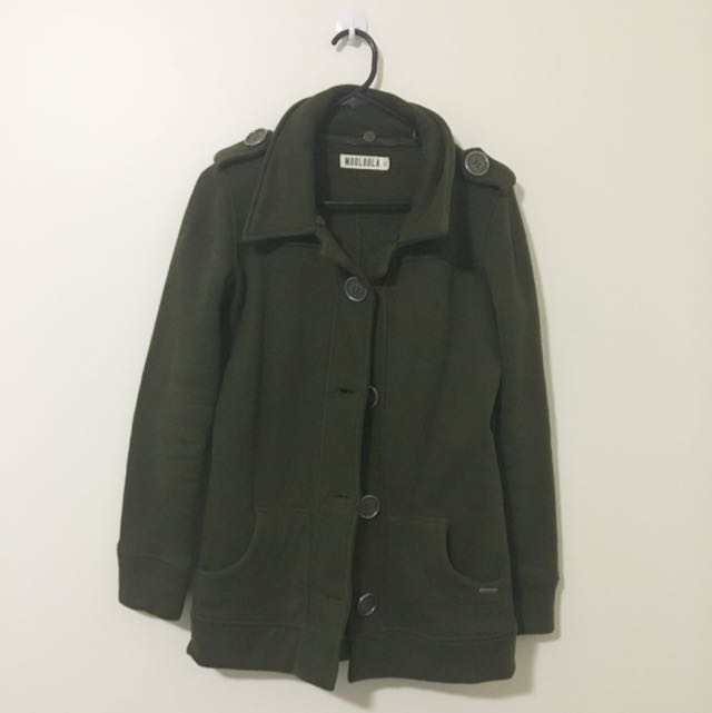 Mooloola Army Green Coat