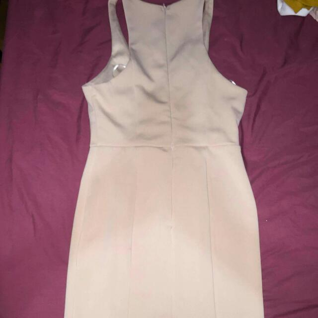 Morning Mist White Party Dress Size 10
