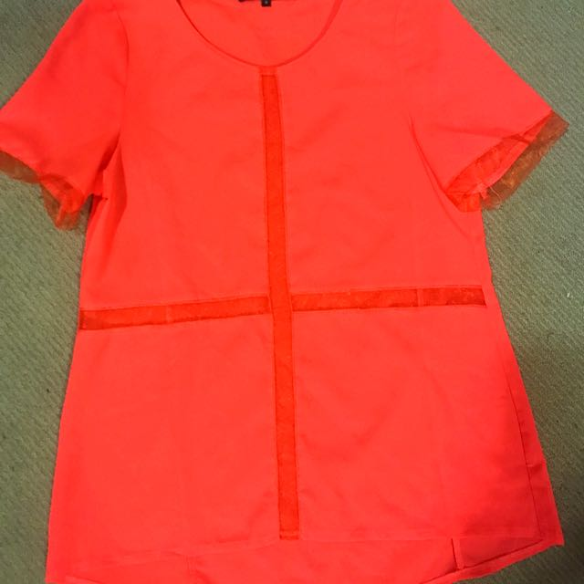 Mossman Bright Orange Shirt