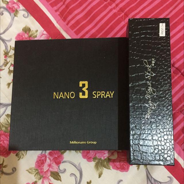 Nano Sprai Versi 3 & Magic Stick Original