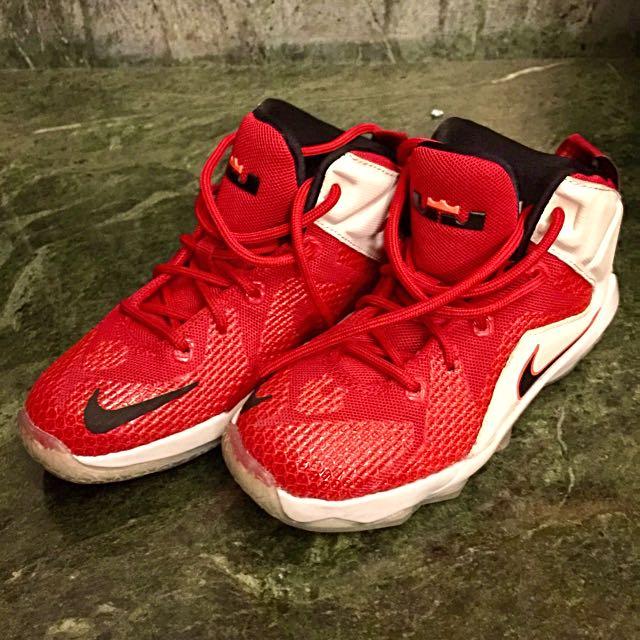buy popular 68a7b 22a43 Nike LeBron 12 (kids), Babies & Kids on Carousell