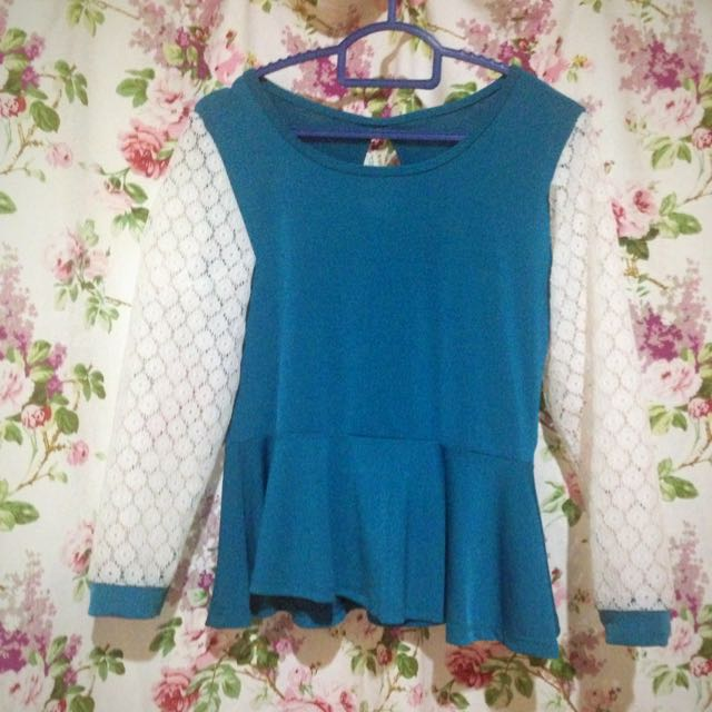 Peplum With Lace