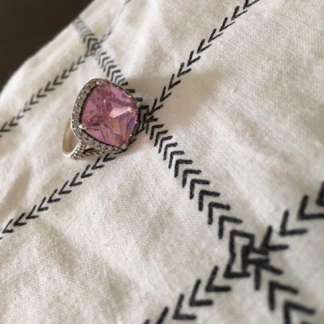 Pink Stone Ring.