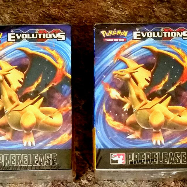 Pokemon Evolution Pre Release Box!