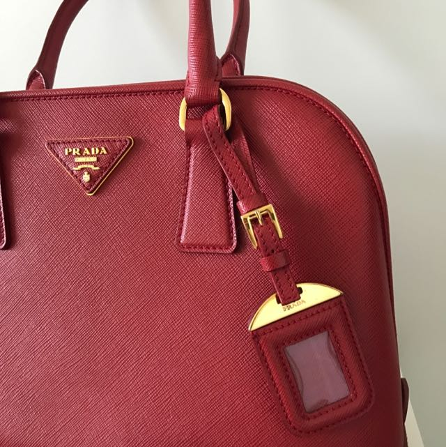 Prada Bag Red.