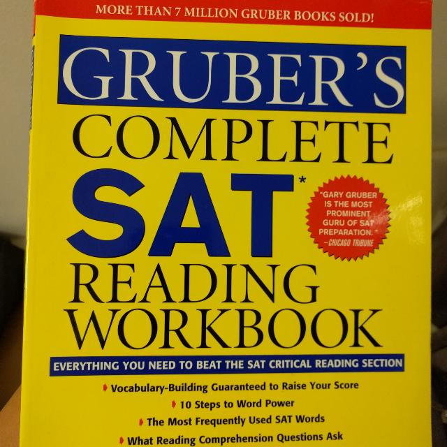 Five SAT Prep Books