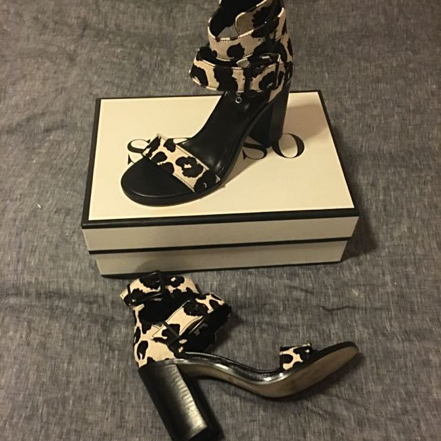 SENSO Pony Hair Heels