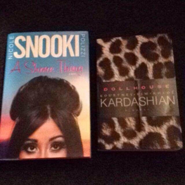 Snooki Book An Dollhouse