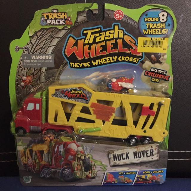 Trash Wheels Muck Mover, Toys & Games, Bricks & Figurines on