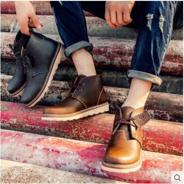 馬汀鞋x沙漠靴款x英倫風