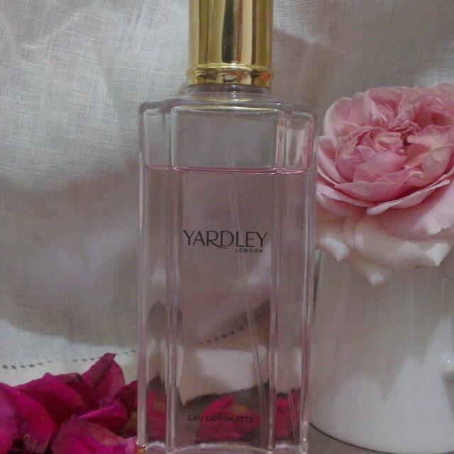 英倫玫瑰女性淡香水 125ml瓶身 Yardley English Rose
