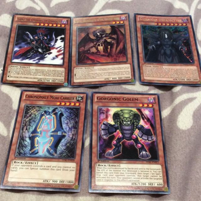 Yugioh Duel Monsters Monster Spell Trap Cards