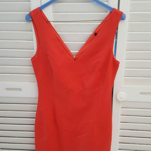 Zara Size Small Red Dress