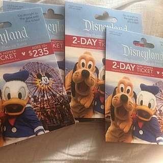 Disneyland 2 Day Park Hoppers