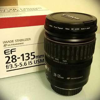 Canon EF 28-135mm f.3.5-5.6 IS USM