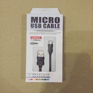 micro USB cable 傳輸線  最後一個