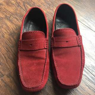Massimo Dutti Suede Loafers