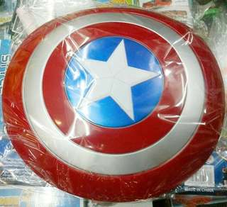 Tameng kapten amerika / Captain America + sound #Action Figure