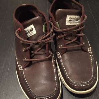 Brown Timberland Shoes Size 9