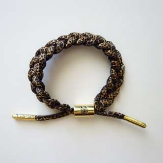Rastaclat Leopard Bracelet with Gold Hardware