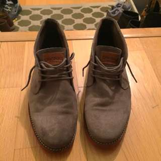 Gray Suede Shoes