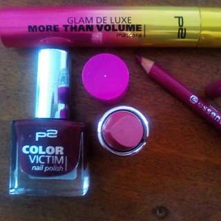 Make Up Set Berry Colours