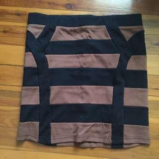 Bardot Mini Skirt Size 6-8