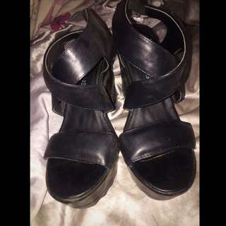 Glassons Leather Heels